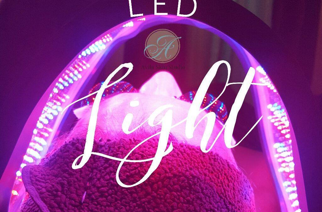 Light therapy at Avila Skin Studio