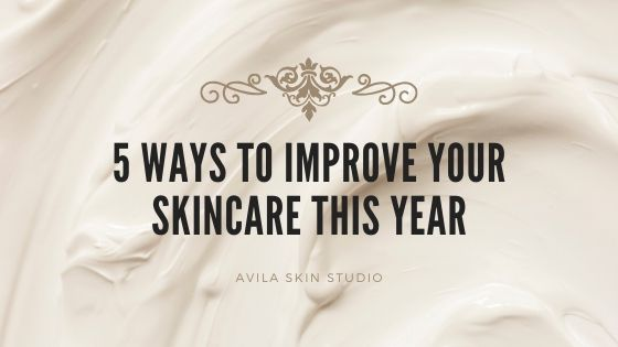 Ways to improve your skincare this year